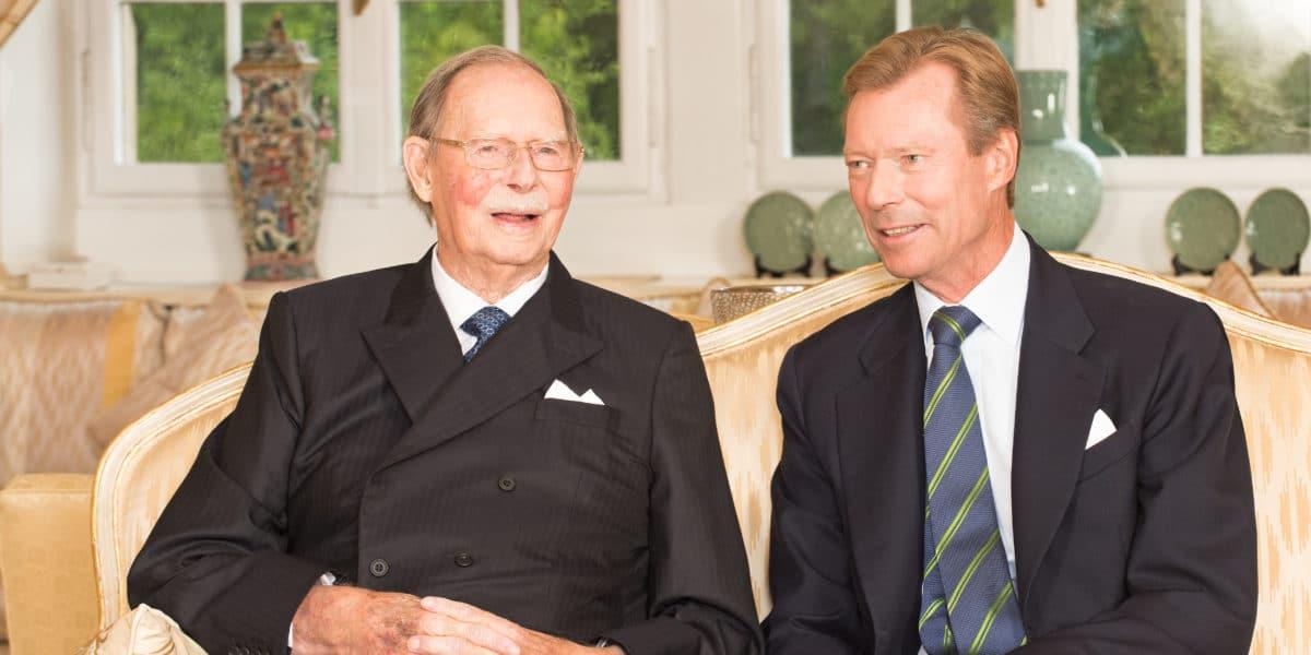 Décès à 98 ans du grand-duc Jean de Luxembourg