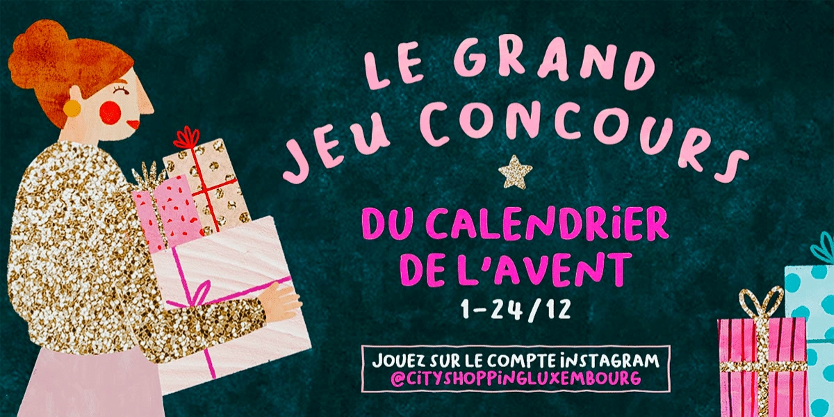 Concours calendrier de l'avent CityShopping Luxembourg