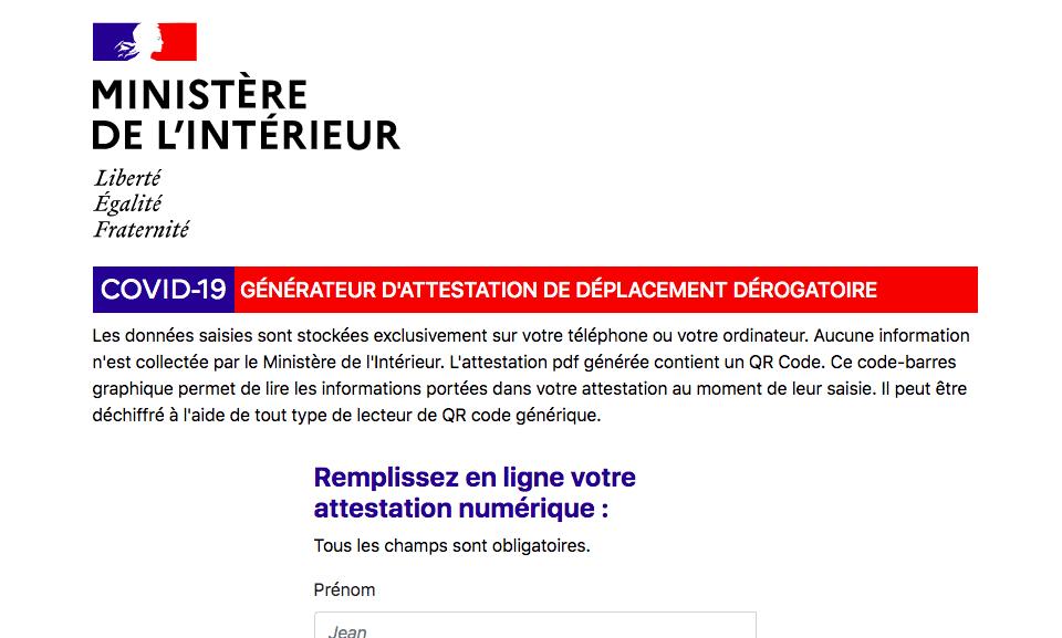France Votre Nouvelle Attestation Pour Vos Deplacements De De 100 Km Les Frontaliers