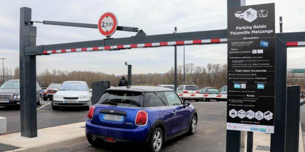 Parking Thionville Metzange