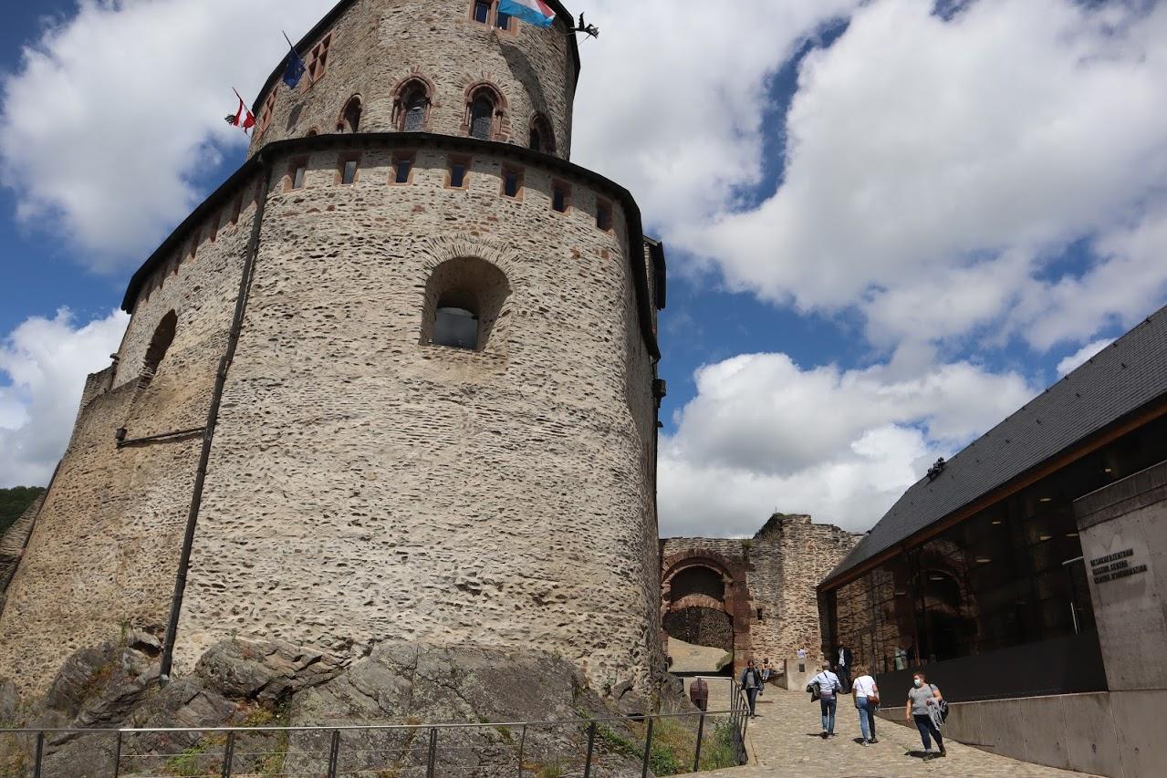 Imposante bâtisse du château de Vianden