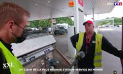 Reportage TF1 - aire de Berchem
