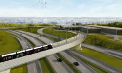Kirchberg-findel-tramway