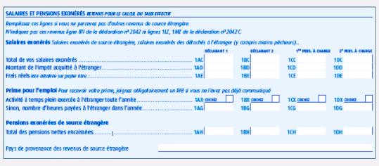 FORMULAIRE CERFA GRATUITEMENT TÉLÉCHARGER 2042 A