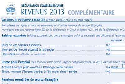 Besoin D Aide Pour Remplir La Nouvelle Declaration Fiscale Francaise