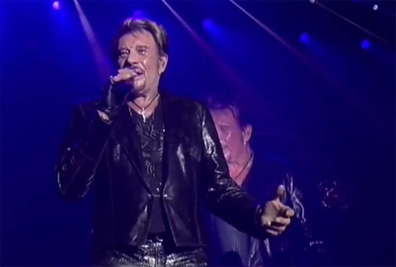 Mort de la légende du rock français : Johnny Hallyday