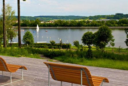 Lac de Losheim am See en Allemagne