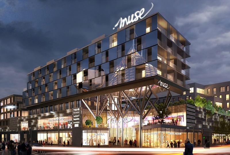 Nouveau centre commercial Muse à Metz b62fb89bb0