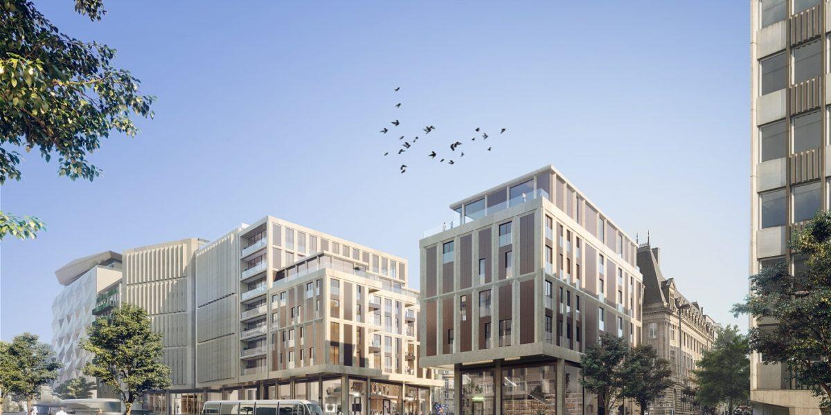 A terme, 50 emplacements seront réservés aux travailleurs occupant les bureaux de l'établissement et 70 aux futurs résidents.